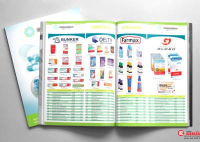 - Revistas, com capa em papel couché brilho 220g, com impressão 4x4 cores e acabamento com verniz UV total; 32 páginas internas em papel couché brilho 115g, impressão 4x4 cores, com acabamento grampeado. Tamanho da página: 21x30cm.